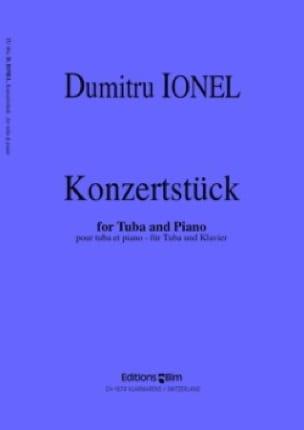 Konzertstück - Dumitru Ionel - Partition - Tuba - laflutedepan.com