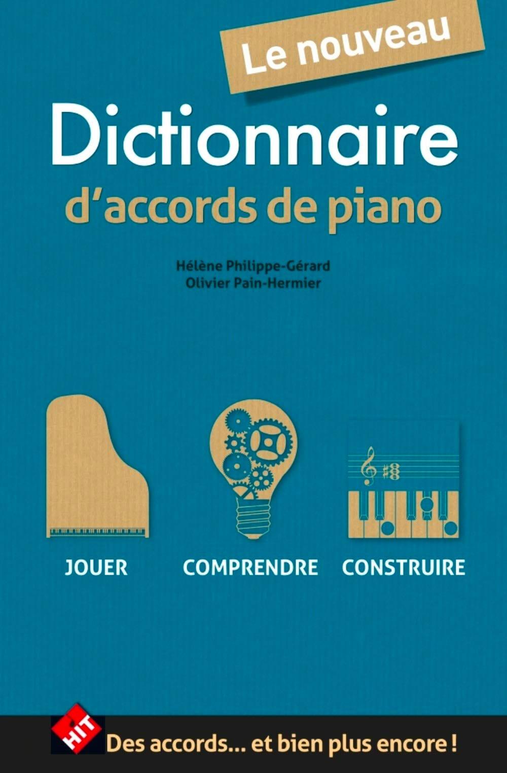 Dictionnaire d'Accords de Piano - Partition - laflutedepan.com