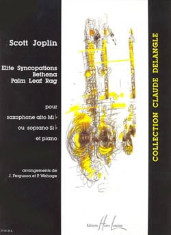 Elite syncopations, Bethena, Palm leaf rag JOPLIN laflutedepan