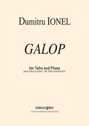 Galop Dumitru Ionel Partition Tuba - laflutedepan