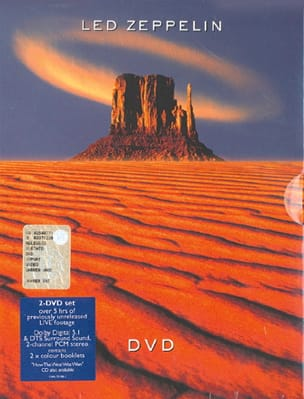 DVD - Led Zeppelin - Led Zeppelin - Partition - laflutedepan.com