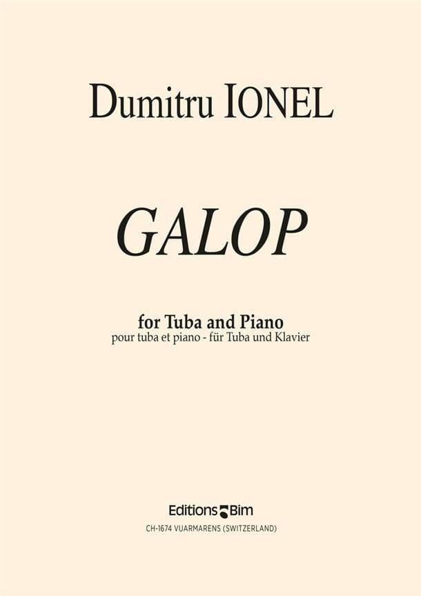 Galop - Dumitru Ionel - Partition - Tuba - laflutedepan.com