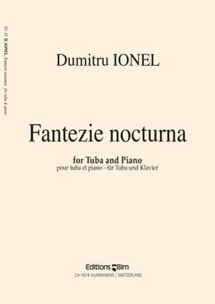 Fantazie Nocturna Dumitru Ionel Partition Tuba - laflutedepan