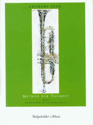 Method for trumpet book 3 Anthony Plog Partition laflutedepan
