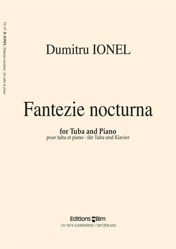 Fantazie Nocturna - Dumitru Ionel - Partition - laflutedepan.com