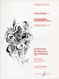 Percurama I Partition Multi Percussions - laflutedepan