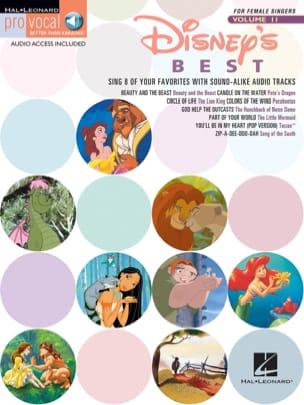 Pro Vocal Women's Edition Volume 11 - Disney's Best - laflutedepan.com