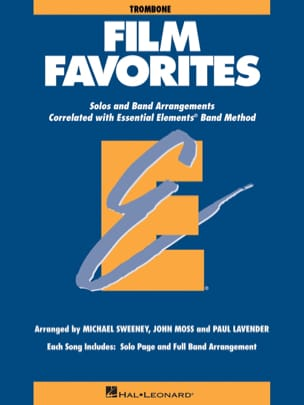Film Favorites - Trombone Partition ENSEMBLES - laflutedepan