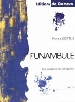 Funambule Francis Coiteux Partition Saxophone - laflutedepan