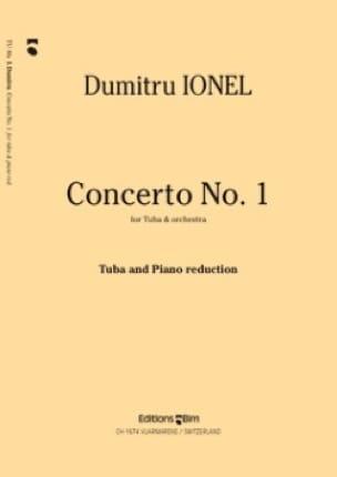 Concerto N° 1 - Dumitru Ionel - Partition - Tuba - laflutedepan.com