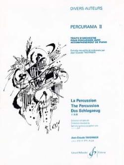Percurama II Partition Multi Percussions - laflutedepan