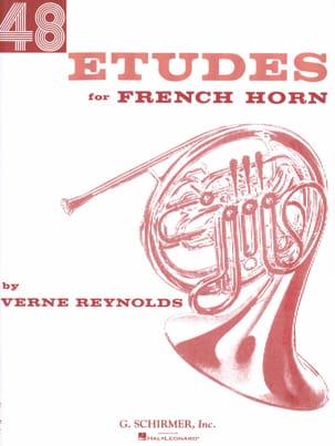 48 Etudes Verne Reynolds Partition Cor - laflutedepan