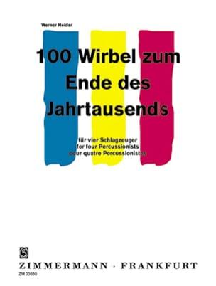 100 Roulements Pour la Fin du Millénaire Werner Heider laflutedepan