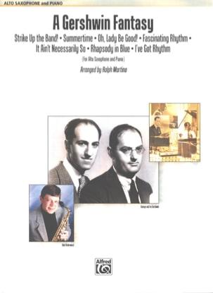 A Gershwin Fantasy George and Ira Gershwin Partition laflutedepan