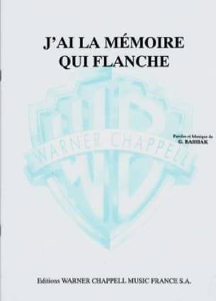 J' Ai la Mémoire qui Flanche - G. Bassiak - laflutedepan.com