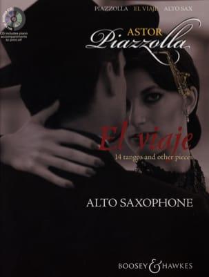 El viaje Astor Piazzolla Partition Saxophone - laflutedepan