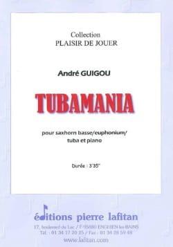 Tubamania André Guigou Partition Tuba - laflutedepan