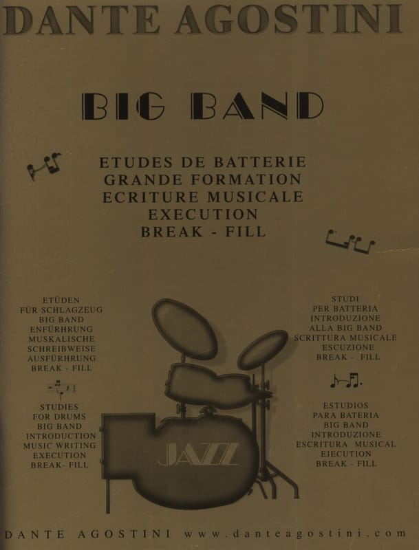 Big band jazz - Dante Agostini - Partition - laflutedepan.com