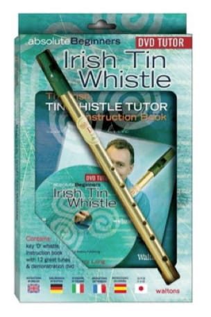 Absolute Beginners Irish Tin Whistle + Flûte - laflutedepan.com
