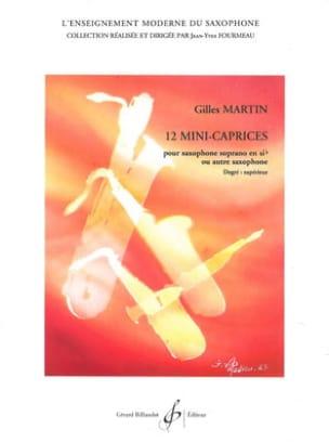 12 Mini-Caprices Gilles Martin Partition Saxophone - laflutedepan