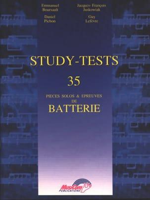 Study-Tests - 35 Pièces Solos & Epreuves de Batterie laflutedepan