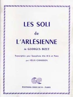 Les Soli de L'Arlésienne BIZET Partition Saxophone - laflutedepan