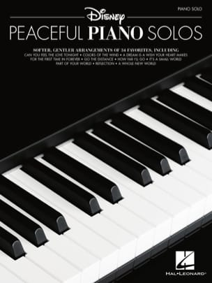 DISNEY - Disney Peaceful Piano Solo - Partition - di-arezzo.it