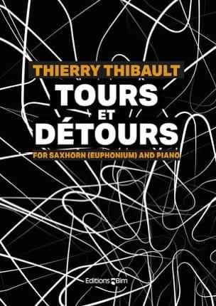 Tours et Détours Thierry Thibault Partition Tuba - laflutedepan