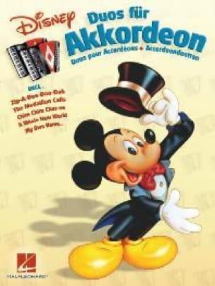 Disney Duos Pour Accordéons - Partition - laflutedepan.com