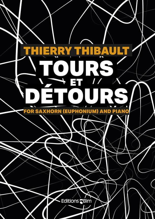 Tours et Détours - Thierry Thibault - Partition - laflutedepan.com