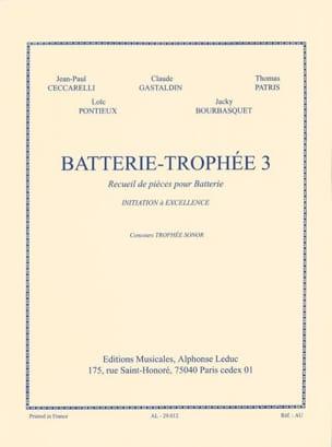 Batterie-Trophée 3 Partition Batterie - laflutedepan