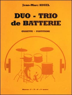 Duo-trio de batterie + K7 Jean-Marc Kugel Partition laflutedepan