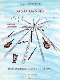 Yvonne Desportes - Saxo Dances - Partition - di-arezzo.co.uk