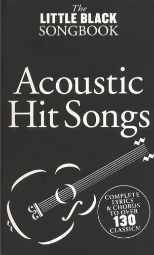 - Das kleine schwarze Songbook der Acoustic Hit Songs - Partition - di-arezzo.de