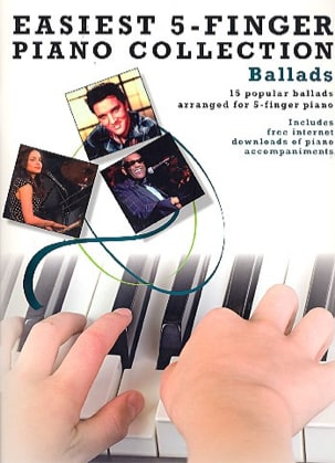 Easiest 5-Finger Piano Collection - Ballads Partition laflutedepan