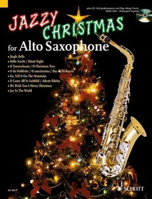 Jazzy Christmas for Alto Saxophone Noël Partition laflutedepan