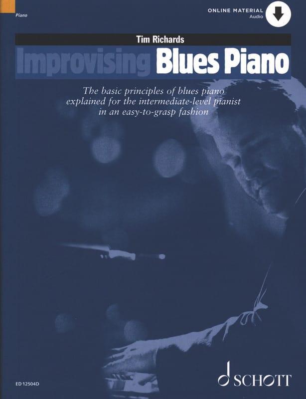 Improvising Blues Piano - Tim Richards - Partition - laflutedepan.com