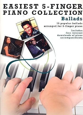 Easiest 5-Finger Piano Collection - Ballads - laflutedepan.com