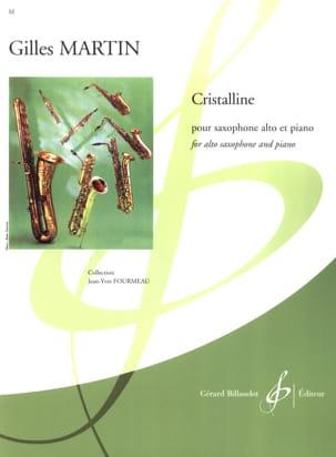 Gilles Martin - Crystalline - Partition - di-arezzo.com