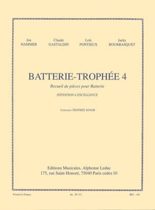 Batterie-Trophée 4 Partition Batterie - laflutedepan