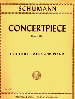 Concertpiece Opus 86 SCHUMANN Partition Cor - laflutedepan