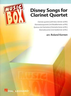 Disney songs for clarinet quartet - Music box DISNEY laflutedepan
