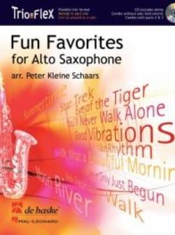 Fun Favorites Trio Flex Partition Saxophone - laflutedepan