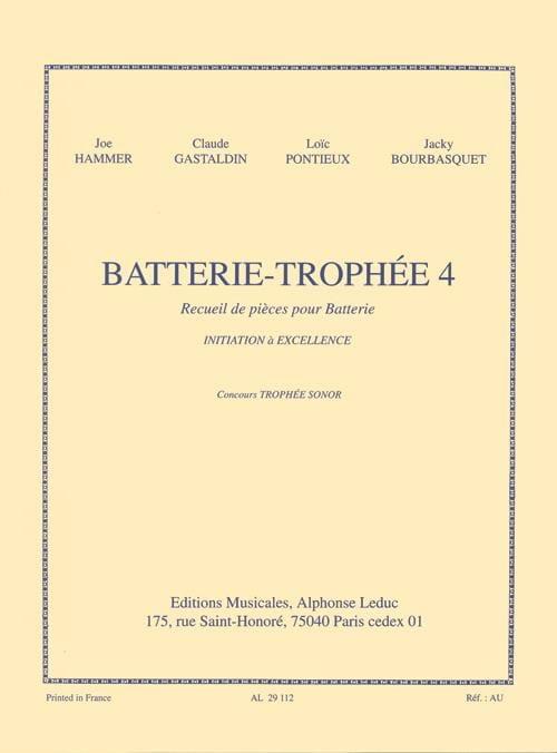 Batterie-Trophée 4 - Partition - Batterie - laflutedepan.com