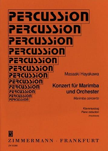 Konzert Für Marimba. Marimba - Masaaki Hayakawa - laflutedepan.com