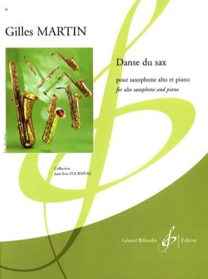 Danse du Sax Gilles Martin Partition Saxophone - laflutedepan