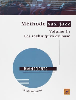 Méthode sax jazz volume 1 Michel Goldberg Partition laflutedepan