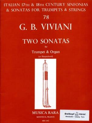 Two Sonatas Giovanni Bonaventura Viviani Partition laflutedepan