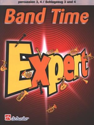 Band Time Expert - Percussion 3, 4 - Jacob De Haan - laflutedepan.com