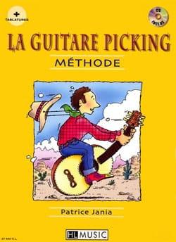 La Guitare Picking Méthode Patrice Jania Partition laflutedepan